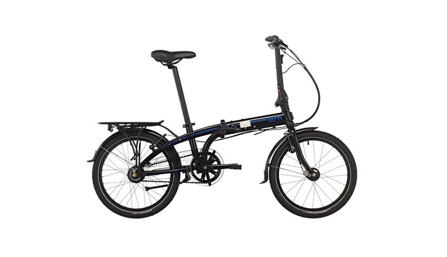 "tern Link C7i - Bicicletas plegables - 20"" negro"